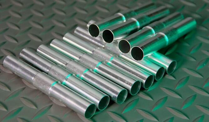 Aluminum Tube Connector