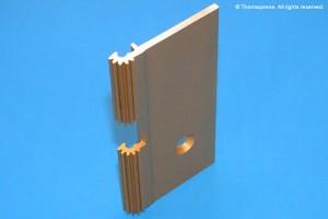 door hinge profile
