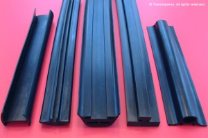 rubber extrusion dunnage channel